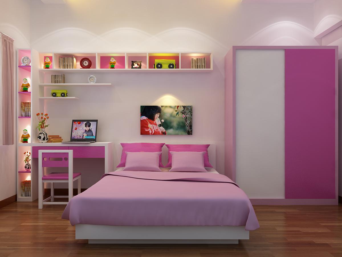 Kết quả hình ảnh cho bố trí góc học tập trong phòng ngủ